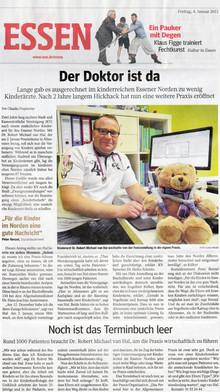 Essener Norden hat endlich zusätzlichen Kinderarzt