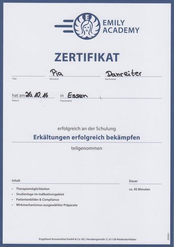 Zertifikate Kinderarzt Altenessen Kinderarztpraxis Altenessen ...