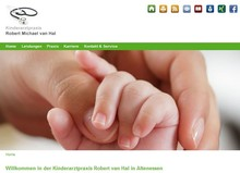 Homepage der Kinderarzt-Praxis