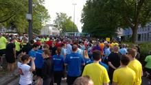 Kinderarzt-Team läuft Marathon