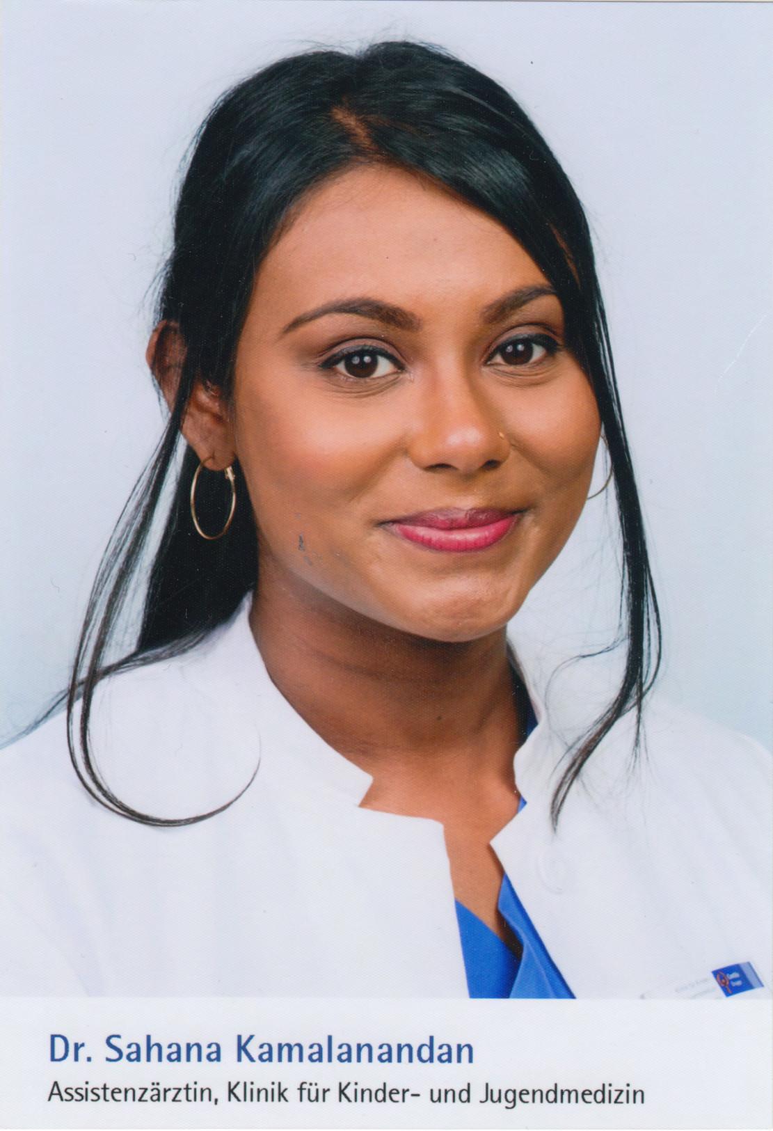 Dr. Sahana Kamalanandan